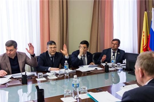 Состоялось заседание постоянной комиссии Чебоксарского городского Собрания депутатов по экономической политике и инвестициям