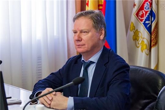 Евгений Кадышев провел заседание постоянной комиссии Чебоксарского городского Собрания депутатов по бюджету
