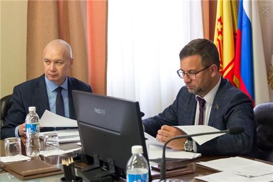 Николай Владимиров провел заседание постоянной комиссии Чебоксарского городского Собрания депутатов по местному самоуправлению и законности