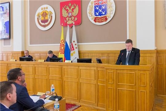 Заслушаны отчеты о результатах деятельности главы города Чебоксары и главы администрации города Чебоксары за 2020 год