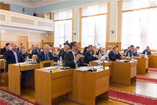 Депутаты городского Собрания продолжили работу 5-го очередного заседания