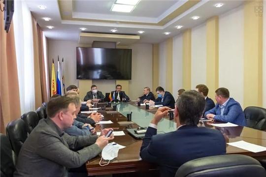Вопросы благоустройства обсудили члены депутатской фракции «Единая Россия»