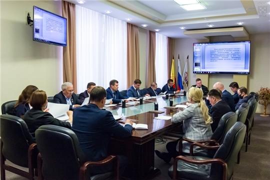 Состоялось 12-ое заседание Президиума Чебоксарского городского Собрания депутатов