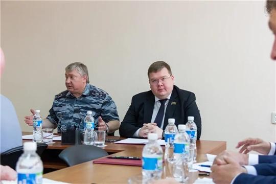 Олег Кортунов принял участие в совещании Попечительского совета при УФСИН России по Чувашской Республике