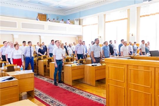 Состоялось 7-е очередное заседание Чебоксарского городского Собрания депутатов