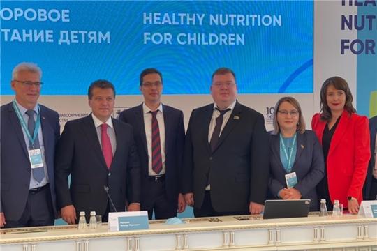 Глава города Чебоксары принял участие в Международном форуме «Здоровые города. Здоровое питание детям»