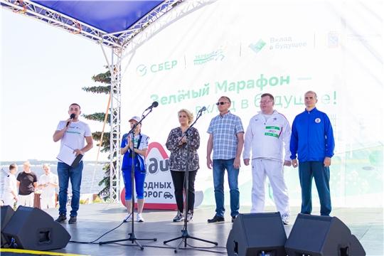 Глава города принял участие в федеральном проекте «Зеленый Марафон»