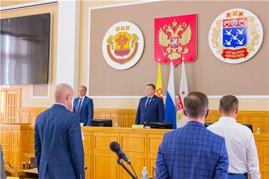 Олег Кортунов провел внеочередное  8-е заседание Чебоксарского городского Собрания депутатов