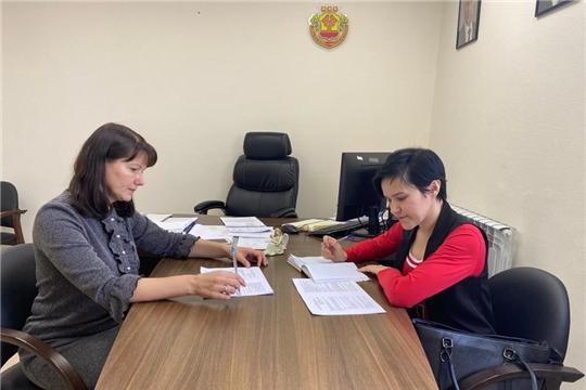 Встреча с председателем Молодежного правительства Чувашской Республики