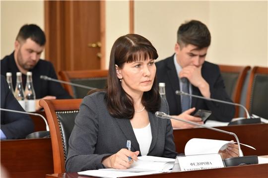 Алевтина Федорова приняла участие в заседании Комиссии по координации работы по противодействию коррупции в Чувашской Республике