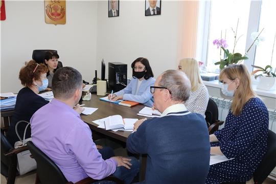 Уполномоченный провел совещание по вопросу участия Чувашии во Всероссийском конкурсе «Вектор детства»