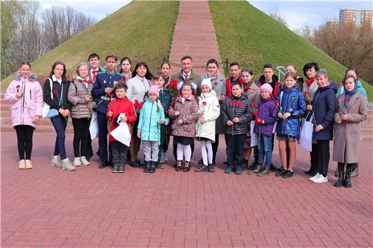Уполномоченным по правам ребенка в Чувашской Республике организованы мероприятия, посвященные Дню Победы