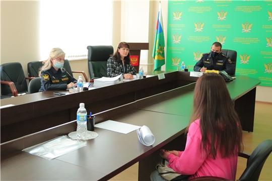 Уполномоченный совместно с главным судебным приставом Чувашии провели прием граждан