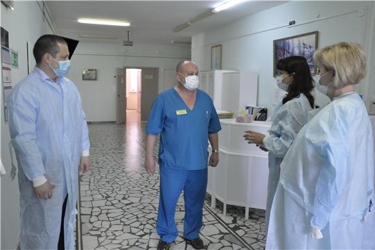 Уполномоченный посетила паллиативное отделение Городской детской клинической больницы