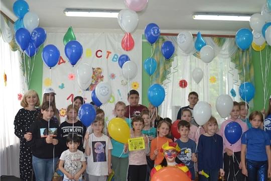 В районах и городах Чувашии прошли мероприятия, посвященные Международному дню защиты детей