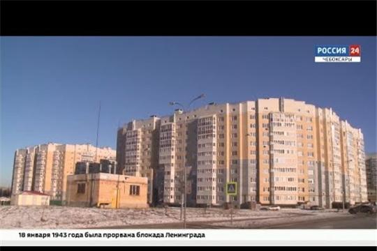 В Чебоксарах за 2020 год было сдано 377 тысяч квадратных метров жилья
