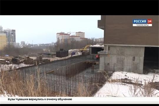 В Чебоксарах два долгостроя ЖК Гагарин обещают достроить в сентябре этого года