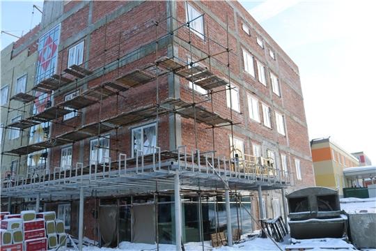 В Чувашии завершается строительство нового корпуса Федерального центра травматологии