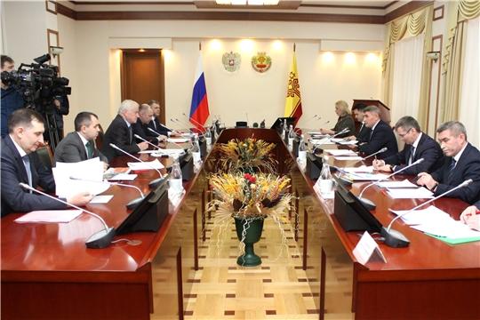 Глава Чувашии и генеральный директор «Т Плюс» договорились о развитии теплоснабжения региона