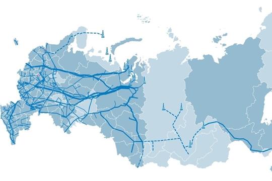 «Газпром межрегионгаз» разработал интерактивную карту газификации регионов России