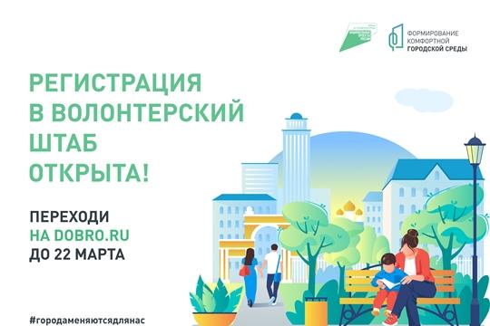 Началась регистрация волонтеров по поддержке голосования за объекты благоустройства