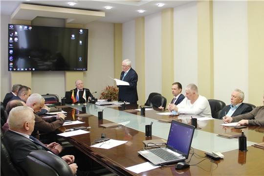 Состоялось очередное заседание Наблюдательного совета Ассоциации предприятий ЖКХ Чувашской Республики