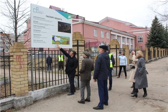 Вице-премьер Павел Данилов с рабочим визитом посетил г. Канаш