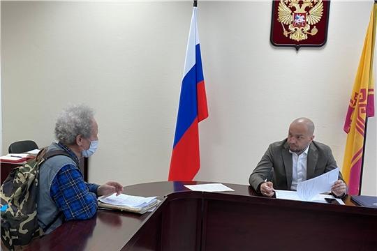 Павел Данилов провел прием граждан