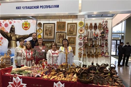 Чувашские мастера представляют народное творчество на «Поволжской ярмарке ремесел и сувениров 2021