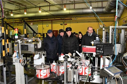 Генеральный консул Узбекистана в Казани посетил Вурнарский завод смесевых препаратов