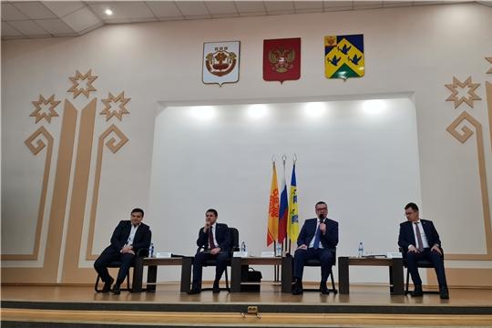 В Новочебоксарске прошла встреча с представителями предпринимательского сообщества города «Бизнес и власть: открытый разговор»