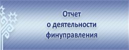 Отчет о деятельности финуправления