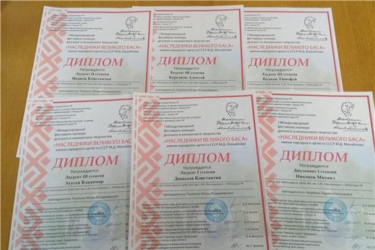 Пианисты Чебоксарской детской музыкальной школы № 1 имени С.М. Максимова – с очередными победами!