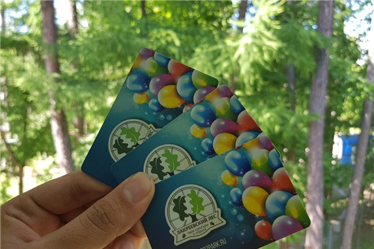 Для удобства посетителей в парке «Лакреевский лес» работает платежно-пропускная система