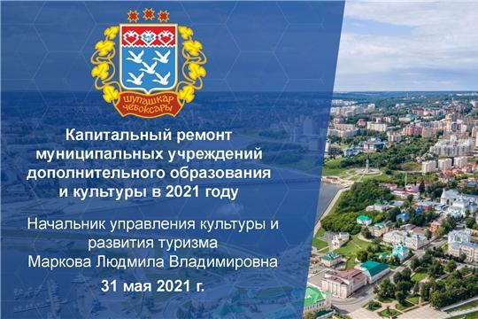 Капитальный ремонт муниципальных учреждений дополнительного образования и культуры в 2021 году