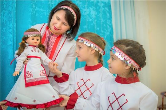 В детских садах города Чебоксары изучают чувашский язык