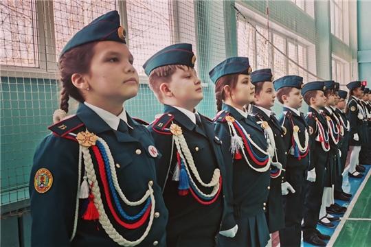 В столичных школах проходит смотр строя и песни ко Дню защитника Отечества
