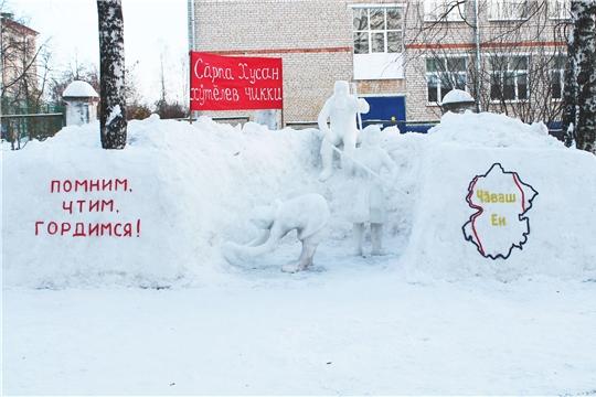 Далекие близкие рубежи: в детских садах продолжается конкурс «Снежные фантазии»