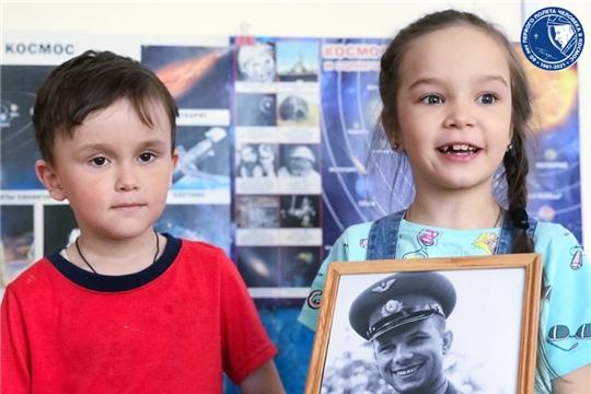 В детских садах продолжаются мероприятия приуроченные 60-летию полета в космос Ю.А. Гагарина