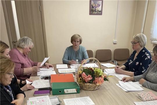 Состоялся ежеквартальный отчет специалистов дошкольного образования города Чебоксары