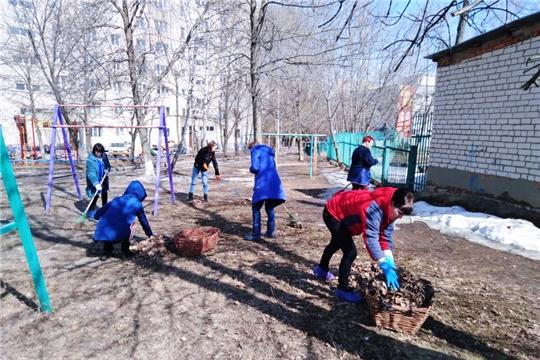 Дошкольные учреждения города Чебоксары присоединились к весенним экологическим мероприятиям