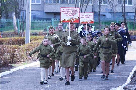 В детских садах Чебоксар прошёл «Парад дошколят»