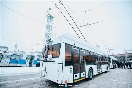 В субботу, 16 января, троллейбус № 20 в Чебоксарах будет запущен по измененной схеме