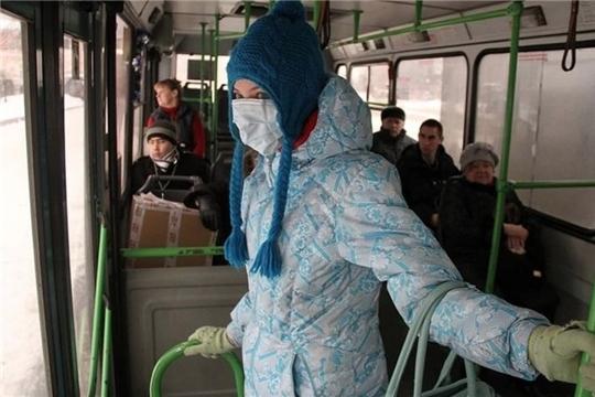 Пекарня, салон штор и 26 пассажиров без масок получили акты о нарушениях масочного режима в Чебоксарах