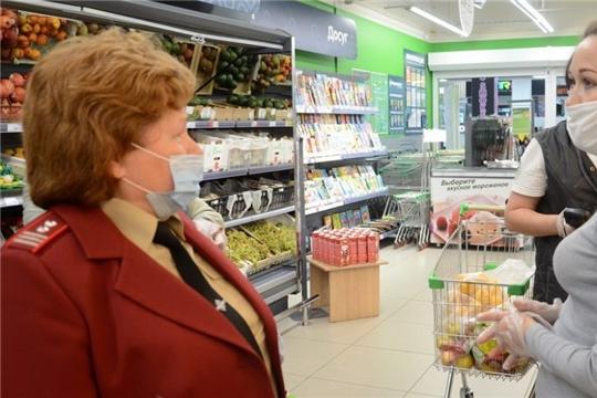 Проверки торговых предприятий выявили нарушителей в Чебоксарах