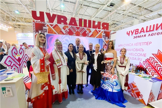 Чебоксары приняли участие в Международной туристической выставке «Интурмаркет»