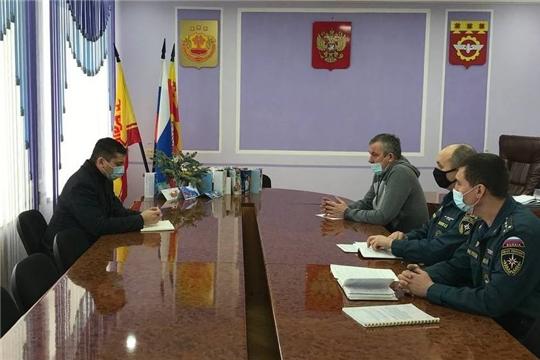 О предложении принятия мер, направленных на стабилизацию обстановки с пожарами на территории Чувашской Республики