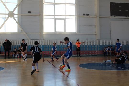 Город Канаш принял II этап первенства России по мини-футболу среди команд общеобразовательных школ в Чувашии на призы Российского футбольного союза
