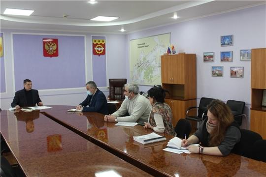 В администрации проведена встреча с руководством МП «Канашские городские тепловые сети МО г. Канаш ЧР» и представителями управляющих компаний