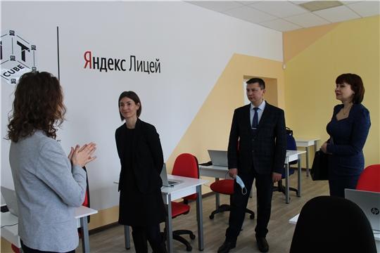 Город Канаш с рабочим визитом посетила министр цифрового развития, информационной политики и массовых коммуникаций Чувашской Республики Кристина Майнина